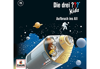 Die Drei ??? Kids - Die Drei ??? Kids 070/Aufbruch ins All  - (CD)