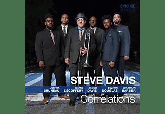 Steve Davis - Correlations  - (CD)