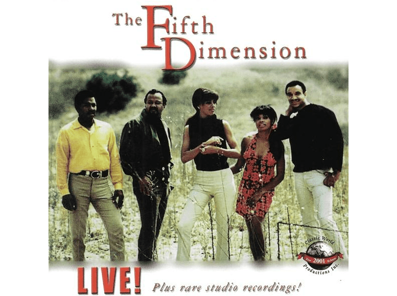 The Fifth Dimension - Live! Plus Rare Studio Recordings! [CD]