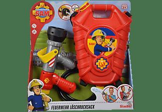 SIMBA TOYS Sam Feuerwehr Tankrucksack Spielzeug-Tankrucksack Mehrfarbig