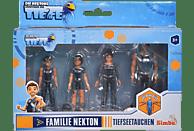 SIMBA TOYS Die Nektons Familienpack Spielset, Mehrfarbig