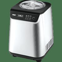 UNOLD Uno 48825 Eismaschine (135 Watt, Silber/Schwarz)