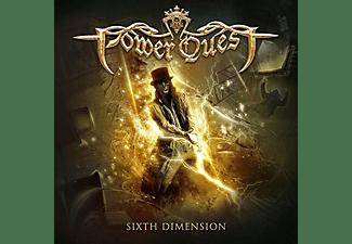 Power Quest - Sixth Dimension (golden vinyl) (LP)  - (Vinyl)