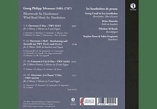 Bläsermusik Für Hautboisten - BLASERMUSIK FUR HAUTBOISTEN  - (CD)