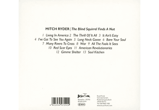 Mitch Ryder feat. Engerling - The Blind Squirrel Finds A Nut  - (CD)