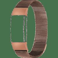 TOPP 40-38-7508, Ersatz-/Wechselarmband, Fitbit, Charge 3, Roségold