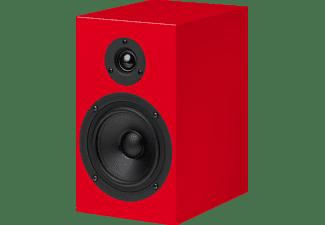 PRO-JECT Speakerbox 5 Kompaktlautsprecher (Passiv-Lautsprecher, Rot