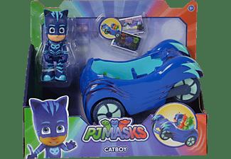 SIMBA TOYS PJ Masks Cat Boy mit Fahrzeug Spielset Mehrfarbig