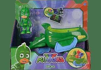 SIMBA TOYS PJ Masks Gecko mit Geckomobil Spielset Mehrfarbig