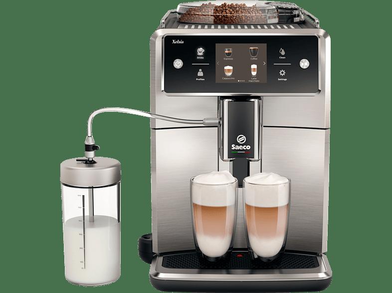 Saeco SAECO SM7683 10 Kaffeevollautomat Schwarz Edelstahl