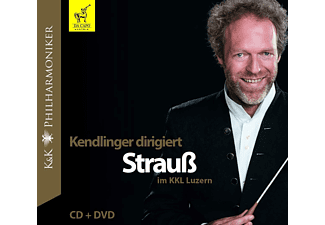 K&k Philharmoniker - Dirigent: Matthias Georg Kendlinger - Kendlinger dirigiert Strauß im KKL Luzern  - (CD + DVD Video)
