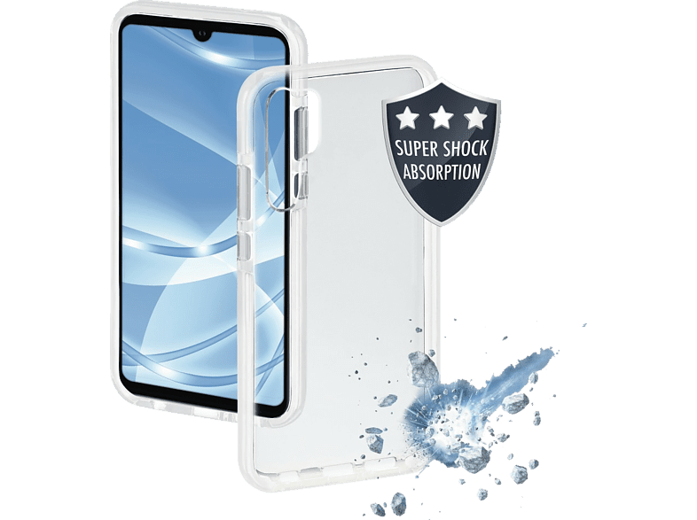 HAMA Protector , Backcover, Huawei, P30 Pro, Thermoplastisches Polyurethan, Transparent/Weiß