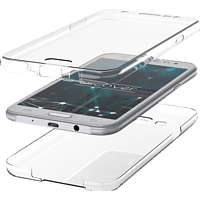 AGM 27947 , Full Cover, Samsung, Galaxy S10+, Thermoplastisches Polyurethan, Transparent