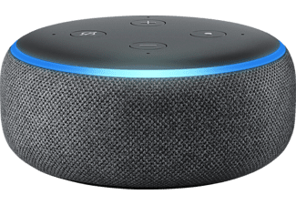 AMAZON Echo Dot 3. Generation Smart Speaker, Schwarz/ Anthrazit