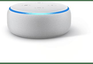 AMAZON Echo Dot 3. Generation Smart Speaker, Weiß/ Sandstein