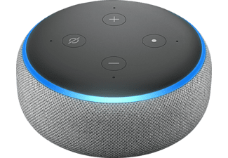AMAZON Echo Dot 3. Generation Smart Speaker, Grau