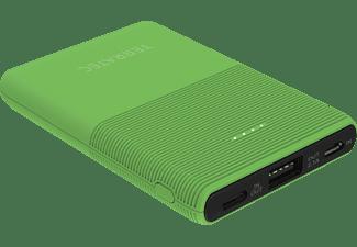 TERRATEC P50 Pocket Powerbank 5.000 mAh (18.5 Wh) Green Flash