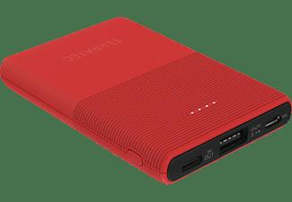 TERRATEC P50 Pocket Powerbank 5.000 mAh (18.5 Wh) Poppy Red