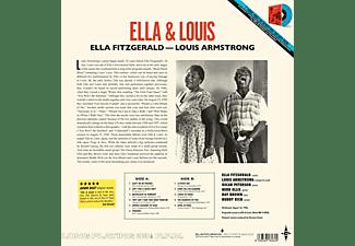 "Ella & Louis Fitzgerald - ELLA & LOUIS (180G LP+FARBIGE 7"" SINGLE)  - (Vinyl)"