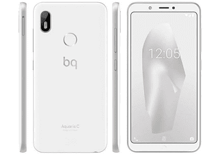"Móvil - BQ Aquaris C, Blanco, 16 GB, 2 GB RAM, 5.45"", Sanpdragon 425, 3000 mAh, Android"
