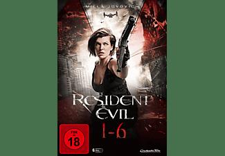 Resident Evil 1-6 DVD