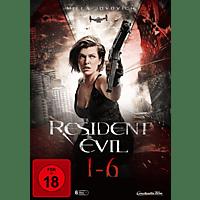 Resident Evil 1-6 [DVD]