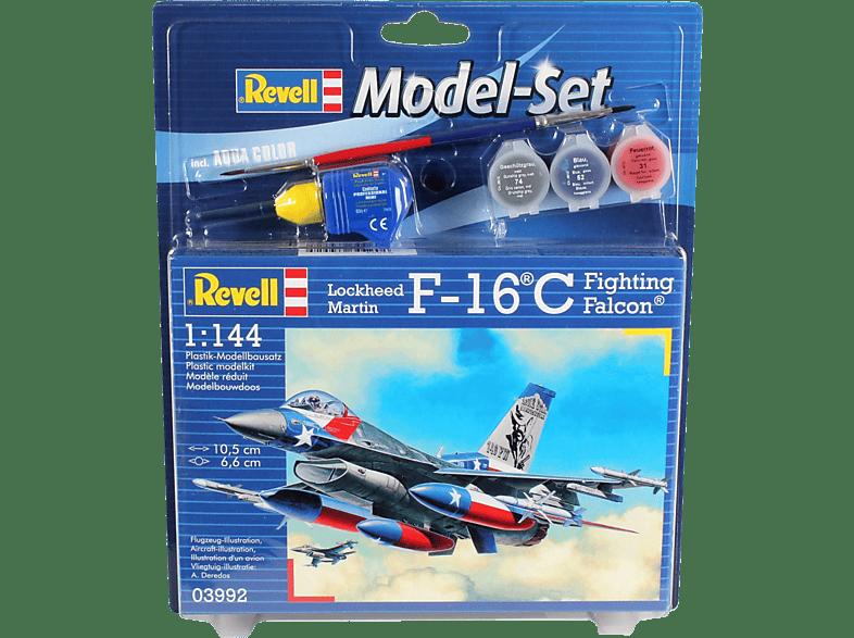 REVELL Model Set F-16C USAF Bausatz, Mehrfarbig