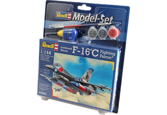 REVELL Model Set F-16C USAF Modellbausatz, Mehrfarbig