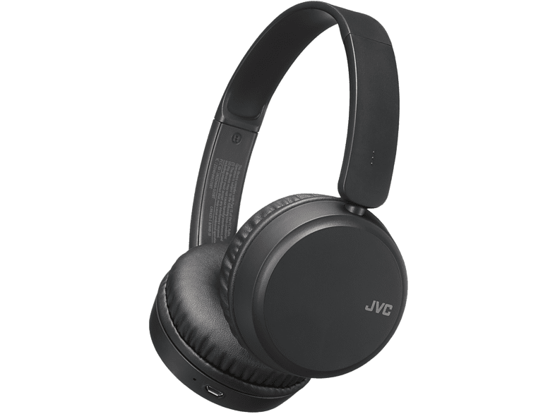JVC Draadloze hoofdtelefoon Zwart (HA-S35BT-B-U)