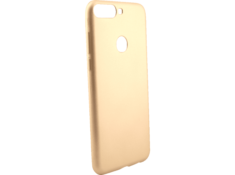 AGM 27926 Soft , Backcover, Huawei, Y7 (2018), Thermoplastisches Polyurethan, Gold