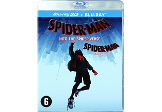 Spider-man: Into The Spider-verse - 3D Blu-ray + Blu-ray