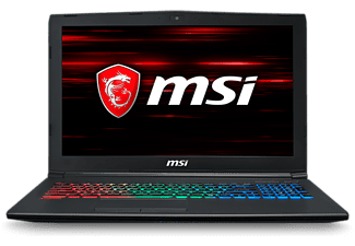 "Portátil Gaming - MSI GF628RE-063XES, 15.6"", Intel® Core™ i7-8750H, 16GB 1TB+256SSD, GTX1060, FreeDos"