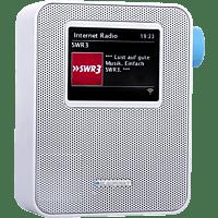 BLAUPUNKT PIB-100-WH Steckdosenradio Steckdosenradio, Digital, Internet Radio, BluetoothJa, Weiß