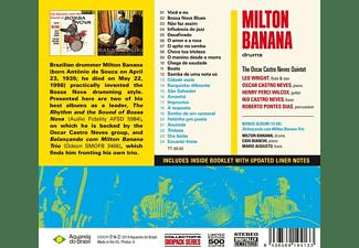 Milton Banana - The Rhythm And The Sound Of Bossa Nova+Balançand  - (CD)