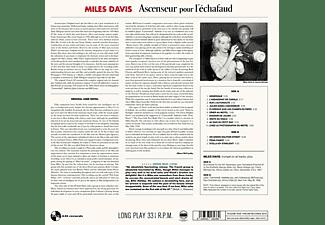 Miles Davis - ASCENSEUR POUR L ECHAFAUD (180G VINYL)  - (Vinyl)