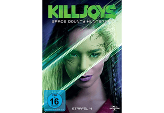 Killjoys-Space Bounty Hunters-Staffel 4 - (DVD)