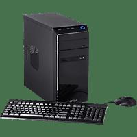 CAPTIVA Gaming R48-647, Gaming PC mit A8 Prozessor, 8 GB RAM, 120 GB SSD, 1 TB HDD, GeForce® GTX 1050 Ti, 4 GB