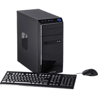 CAPTIVA Gaming R48-638, Gaming PC, A8 Prozessor, 16 GB RAM, 120 GB SSD, 1 TB HDD, Radeon™ RX 550, Schwarz
