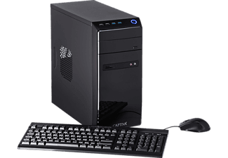 CAPTIVA POWER-Starter R48-635, Desktop PC mit A8 Prozessor, 16 GB RAM, 480 GB SSD, 1 TB HDD, Radeon™ R7