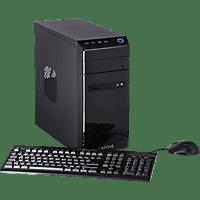 CAPTIVA POWER-Starter R48-633, Desktop PC, A8 Prozessor, 8 GB RAM, 240 GB SSD, 1 TB HDD, Radeon™ R7, Schwarz