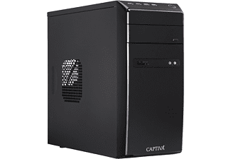 CAPTIVA POWER-Starter R48-631, Desktop PC mit A8 Prozessor, 8 GB RAM, 120 GB SSD, 1 TB HDD, Radeon™ R7