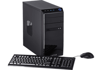 CAPTIVA POWER-Starter R48-634, Desktop PC mit A8 Prozessor, 16 GB RAM, 240 GB SSD, 1 TB HDD, Radeon™ R7