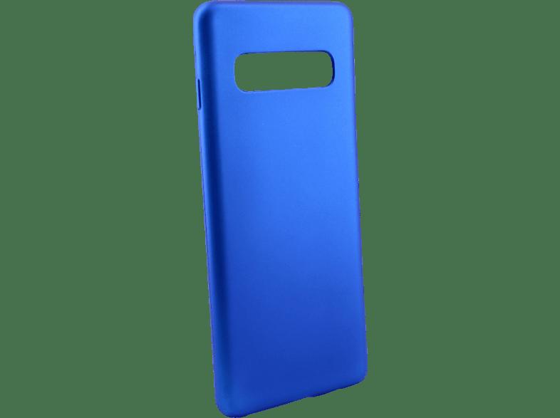 AGM 27974 Soft , Backcover, Samsung, Galaxy S10+, Thermoplastisches Polyurethan, Blau