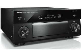 Receptor AV - Yamaha RX-A3080, 230W por canal, 9.2 canales, Dolby Atmos, HDMI, Entrada phono, Wifi