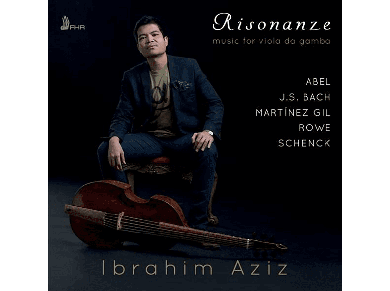Ibrahim Aziz - Risonanze-Music For Viola Da Gamba [CD]