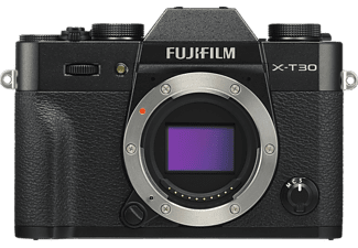 FUJIFILM X-T30 - Appareil photo à objectif interchangeable (Résolution photo effective: 26.1 MP) Noir
