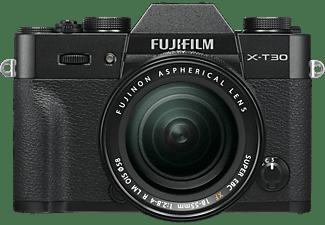 FUJIFILM X-T30 inkl. XF18-55mm F2.8-4 R LM OIS Kit Systemkamera 26.1 Megapixel mit Objektiv 18-55 mm f/2.8-4, 7,6 cm Display Touchscreen, WLAN