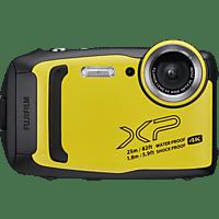 FUJIFILM FinePix XP140 Digitalkamera Gelb, 16.4 Megapixel, 5x opt. Zoom, Farb-LCD, WLAN