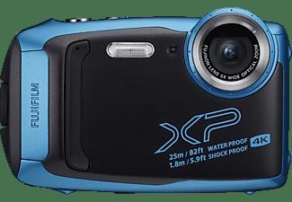 FUJIFILM FinePix XP140 Digitalkamera Eisblau, 5x opt. Zoom, Farb-LCD, WLAN