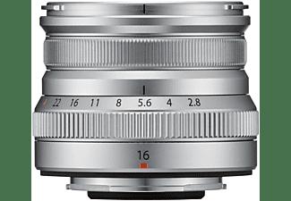 FUJIFILM FUJINON XF16mm F2.8 R WR 16 mm - 16 mm f/2.8 WR (Objektiv für Fuji X-Mount, Silber)